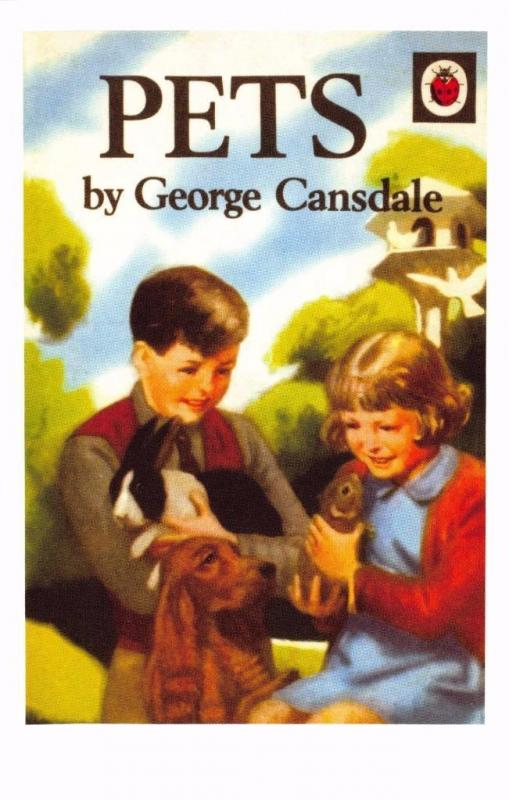 Postcard Pets (1957) Series 536 Nature Ladybird Book Cover