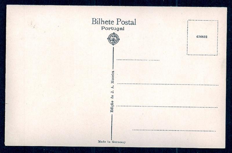 Palace Hotel Closeup Bussaco Portugal RPPC unused c1920's