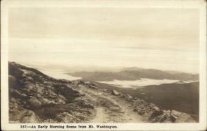 Shorey #367 Scene From Mt. Washington Real Photo Postcard