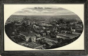 brazil, SÃO PAULO, Panorama 4, Partial View (1910s) Malusardi