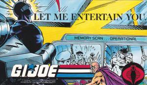 G I Joe Let Me Entertain You