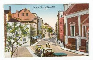 Busy Church Street,Gibraltar 1900-10s
