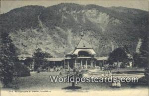 Interlaken Swizerland, Schweiz, Svizzera, Suisse Kursaal  Kursaal
