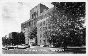 Toledo Ohio Hospital Real Photo Antique Postcard K53063