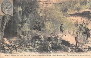 B93296 ligne du sud de la france saut du loup la grotte de petrification