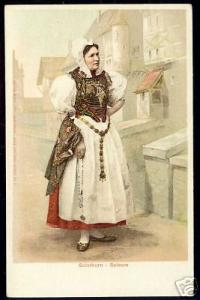 switzerland, SOLOTHURN - SOLEURE, Costumes (ca. 1900)