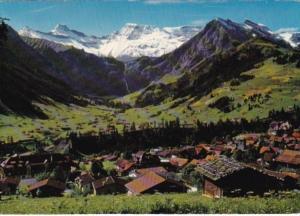 Switzerland Adelboden Berner Oberland