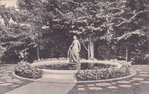 Massachusetts Northampton The Laning Fountain Smith College Alumnae House Alb...