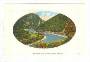 The Water Gap, Deleware Water Gap, Pennsylvania, 1900-10s