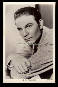 b1626 - Film Actor - Henry Wilcoxon - Picturegoer No. 863 - postcard