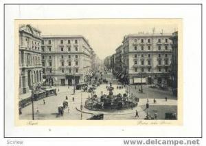 Piazza Della Borsa, Napoli, Italy, 1900-1910s