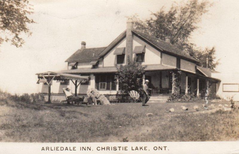 RP: CHRISTIE LAKE , Ontario, Canada, 1944 ; Arliedale Inn