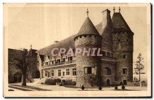 Old Postcard Hattonchatel (Meuse) Le Chateau imagine by Jacquelin
