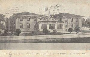 PORT ARTHUR , Texas, 1910 ; Business College Dorm