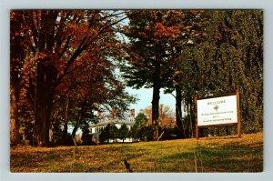 Brattleboro VT- Vermont, School for International Training, Chrome Postcard