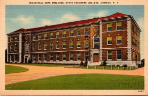 New York Oswego Industrial Arts Building State Teachers College