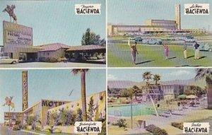 California Fresno Hacienda Motel Multi Locations