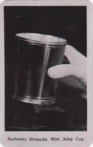 Kentucky Shelbyville Hand Made Authentic Kentucky Mint Julep Cup Dexter Press