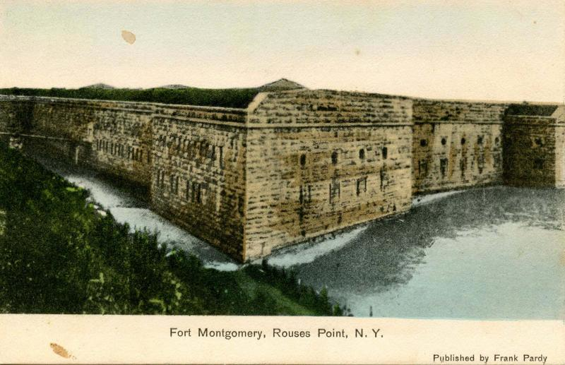 NY - Rouses Point. Fort Montgomery