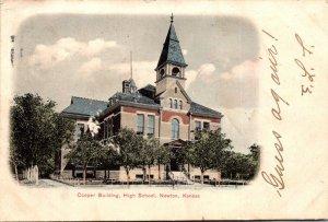 Kansas Newton Cooper Building High School 1906