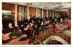 Illinois Chicago Bismarck Hotel Lobby