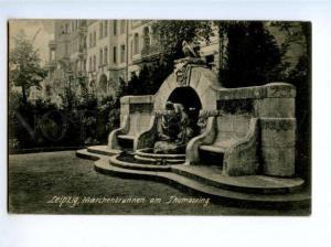 172502 GERMANY LEIPZIG Marchenbrunnen am Thomasring Vintage PC