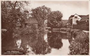 The Towpath Bishops Stortford Vintage Lakes Real Photo Postcard