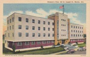Alabama Mobile Seamen's Club St Joseph Street Curteich sk6968
