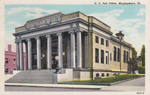 Illinois Murphysboro Post Office 1949 Curteich