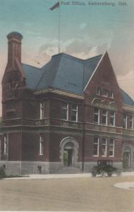 AMHERSTBURG , Ontario , 1900-10s ; Post Office