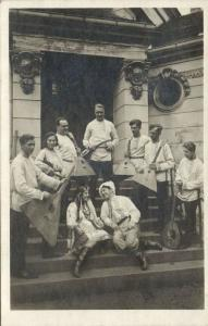 russia, Balalaika Orchestra of the J.F.A., Music Instrument (1930s) RPPC