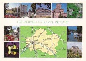 Map Of Les Merveilles Du Val De Loire France Multi View