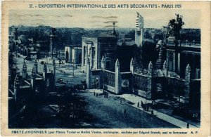 CPA PARIS EXPO 1925 Porte d'Honneur (860122)