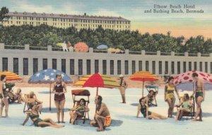 BERMUDA, 1930-40s; Elbow Beach Hotel and Bathing Beach