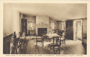 Virginia Fredericksburg Dining Room In The Home Of Mary Albertype