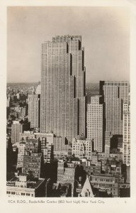 RP: NEW YORK CITY, N.Y., 1930s ; RCA Bldg