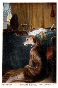 Dog , High Life , Sir Edwin Landseer