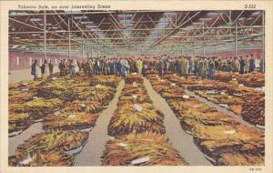 A Typical Tobacco Auction Curteich