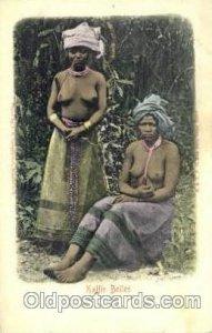 Kaffir Belles African Nude Unused