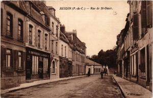 CPA HESDIN Rue de St-OMER (405918)