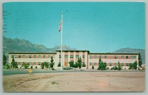 Alamogordo New Mexico~White Sands~Administration Building~Space~Rocket Ct.~1958
