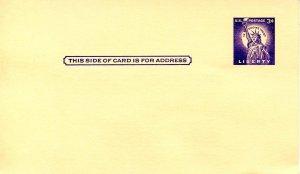 U.S. Postal Card - UX46