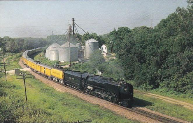 Union Pacific Railroad Steam Locomotive #844