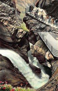 Switzerland Lauterbrunnen Trummelbach Postcard