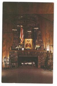 Cathedral of the Pines Fireplace Hilltop House Rindge NH