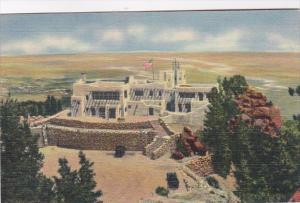 Colorado Colorado Springs Cheyenne Lodge On Summit Of Cheyenne Mountain Curteich