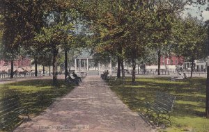 CANTON, Illinois, PU-1910; Jones Park