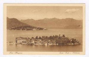 Lago Maggiore, Italy 1910-30s   Isola Bella e Pallanza