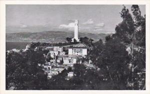 California San Francisco Coit Tower On Telegraph Hill