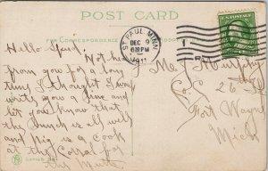 Masons AD Woman Masonic 'Want To Join The Masons' Bricklaying c1911 Postcard F78
